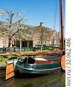 Enkhuizen am Ijsselmeer in den Niederlanden. Стоковое фото, фотограф Zoonar.com/Stephan S / easy Fotostock / Фотобанк Лори