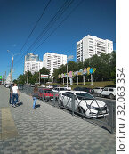 Улица Осипенко.Самара. (2019 год). Редакционное фото, фотограф Кургузкин Константин Владимирович / Фотобанк Лори