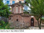 Купить «Church of the Saviour, Thessaloniki, Greece», фото № 32063554, снято 17 июня 2019 г. (c) Boris Breytman / Фотобанк Лори