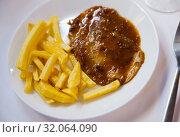 Купить «Carne mechada», фото № 32064090, снято 8 апреля 2020 г. (c) Яков Филимонов / Фотобанк Лори