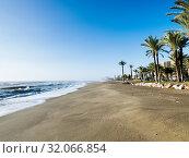 Los Alamos Beach, Torremolinos, Málaga, Andalusia, Spain, Europe. Стоковое фото, фотограф José Luis Hidalgo Salguero / easy Fotostock / Фотобанк Лори