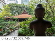 The MR Kukrit Pramoj House in Sathon in the city of Bangkok in Thailand. Thailand, Bangkok, November, 2017. Стоковое фото, фотограф Zoonar.com/URS FLUEELER / age Fotostock / Фотобанк Лори