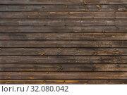 Купить «Фон из старых деревянных досок темно-серого цвета», фото № 32080042, снято 22 августа 2019 г. (c) Устенко Владимир Александрович / Фотобанк Лори
