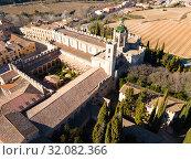 Santa Maria de Santes Creus in Catalonia (2019 год). Стоковое фото, фотограф Яков Филимонов / Фотобанк Лори