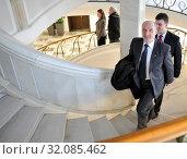 March 30, 2011 Sejm, Warsaw, Poland. Pictured: Antoni Macierewicz. Редакционное фото, фотограф Henryk Jackowski / age Fotostock / Фотобанк Лори
