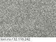 Купить «Silver glitter texture», фото № 32110242, снято 9 января 2019 г. (c) Иван Михайлов / Фотобанк Лори