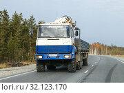 Купить «Ural 44202-80», фото № 32123170, снято 7 октября 2016 г. (c) Art Konovalov / Фотобанк Лори