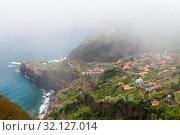Bird eye view landscape, Madeira (2017 год). Стоковое фото, фотограф EugeneSergeev / Фотобанк Лори