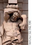 Купить «Europe, Italy, Emilia-Romagna, Bologna, Davia-Bargellini Palace», фото № 32142190, снято 29 мая 2016 г. (c) age Fotostock / Фотобанк Лори