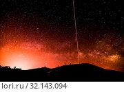 Купить «Night Sky Picture Darkness Planets and Stars», фото № 32143094, снято 12 июля 2020 г. (c) easy Fotostock / Фотобанк Лори