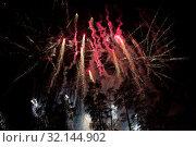 Огненное шоу. Стоковое фото, фотограф Михаил Ворожцов / Фотобанк Лори