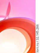 Купить «Abstract photo - background of multi-colored rings with a gradient.», фото № 32145266, снято 28 апреля 2019 г. (c) Olesya Tseytlin / Фотобанк Лори