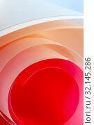 Купить «Abstract background photography in salmon shades.», фото № 32145286, снято 28 апреля 2019 г. (c) Olesya Tseytlin / Фотобанк Лори