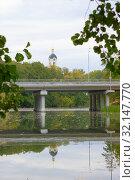 Купить «Новый мост в Сарове», фото № 32147770, снято 7 сентября 2019 г. (c) Ельцов Владимир / Фотобанк Лори