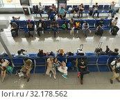 Купить «Departure area of Vietnam airport», фото № 32178562, снято 7 сентября 2019 г. (c) Александр Подшивалов / Фотобанк Лори