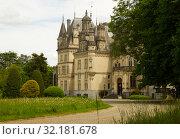 Купить «Montrejeau castle of Valmirande», фото № 32181678, снято 12 мая 2017 г. (c) Яков Филимонов / Фотобанк Лори