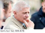 5.05.2019 Lodz, Poland. European Coalition party convention. Pictured: Marek Belka. Редакционное фото, фотограф Piotr Kuna / age Fotostock / Фотобанк Лори