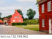 Купить «Army barracks in the Kastellet (Citadel), Copenhagen, Denmark», фото № 32194962, снято 15 ноября 2019 г. (c) Николай Коржов / Фотобанк Лори