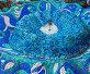 Купить «Old fountain with mosaic tiles. Popular in the USSR», фото № 32206802, снято 10 июля 2019 г. (c) Володина Ольга / Фотобанк Лори
