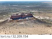 "Купить «Ruins of fortress Ayaz Kala (""Ice Fortress"") ancient Khorezm, in the Kyzylkum desert in Uzbekistan», фото № 32209154, снято 21 сентября 2015 г. (c) Куликов Константин / Фотобанк Лори"