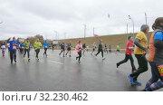 Absolute Moscow Marathon (2019 год). Редакционное видео, видеограф Потийко Сергей / Фотобанк Лори