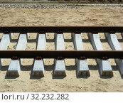 Купить «Железнодорожное полотно», эксклюзивное фото № 32232282, снято 4 июня 2015 г. (c) lana1501 / Фотобанк Лори