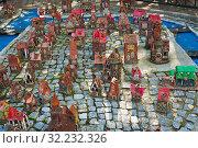 Купить «Маленькие домики. Модель острова Кнайпхоф в городе Светлогорске. Калининградская область. Россия», фото № 32232326, снято 3 сентября 2019 г. (c) E. O. / Фотобанк Лори