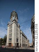 Купить «Москва дом №21 на Ильинке», эксклюзивное фото № 32235018, снято 22 июня 2019 г. (c) Дмитрий Неумоин / Фотобанк Лори
