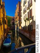 Canals in Venice (2019 год). Стоковое фото, фотограф Яков Филимонов / Фотобанк Лори