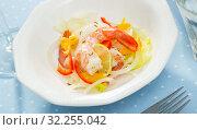 Seafood ceviche with shrimps. Стоковое фото, фотограф Яков Филимонов / Фотобанк Лори