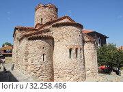 Церковь Святого Иоанна Крестителя. Несебр, Болгария (2019 год). Редакционное фото, фотограф Носов Руслан / Фотобанк Лори