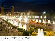 Купить «Plaza de Espana in Barcelona, Spain», фото № 32268758, снято 24 июля 2016 г. (c) Яков Филимонов / Фотобанк Лори
