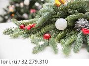 Christmas composition. Стоковое фото, фотограф Юлия Бабкина / Фотобанк Лори