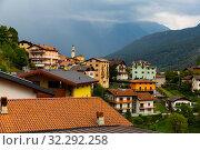 Купить «Italian settlement of Cortenedolo», фото № 32292258, снято 1 сентября 2019 г. (c) Яков Филимонов / Фотобанк Лори