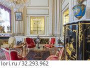 Купить «Niavaran Mansion, 1967, Niavaran palace, Tehran, Iran.», фото № 32293962, снято 3 мая 2019 г. (c) age Fotostock / Фотобанк Лори