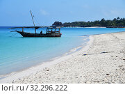 Купить «Zanzibar, Tanzania, Africa. Kendwa beach», фото № 32296222, снято 6 октября 2019 г. (c) Знаменский Олег / Фотобанк Лори
