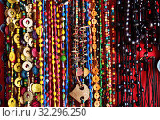 Купить «African primitive jewellery. Zanzibar, Tanzania, Africa», фото № 32296250, снято 4 октября 2019 г. (c) Знаменский Олег / Фотобанк Лори