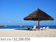 Купить «Kendwa resort, Zanzibar, Tanzania, Africa», фото № 32298050, снято 6 октября 2019 г. (c) Знаменский Олег / Фотобанк Лори