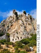 Купить «Замок Святого Иллариона (Saint Hilarion Castle), Северный Кипр», фото № 32298958, снято 27 сентября 2019 г. (c) Инна Грязнова / Фотобанк Лори