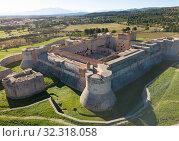 Купить «Aerial view of Fort de Salses, France», фото № 32318058, снято 3 января 2019 г. (c) Яков Филимонов / Фотобанк Лори