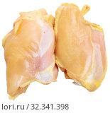 Raw chicken breast. Стоковое фото, фотограф Яков Филимонов / Фотобанк Лори