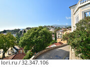 Herceg Novi City view from the Forte, Mare stairs, Montenegro (2019 год). Стоковое фото, фотограф Володина Ольга / Фотобанк Лори