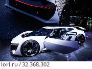 Audi AI:Race (2019 год). Редакционное фото, фотограф Art Konovalov / Фотобанк Лори
