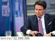 Купить «Italian Prime Minister Giuseppe Conte, attends the Rai talk show 'Porta a porta'. Rome, Italy, 07 November 2019.», фото № 32390306, снято 17 февраля 2020 г. (c) age Fotostock / Фотобанк Лори