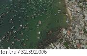 Купить «Funicular cable car on Phu Quoc Island to Hon Thom Pineapple Island in Vietnam», видеоролик № 32392006, снято 4 ноября 2019 г. (c) Aleksejs Bergmanis / Фотобанк Лори