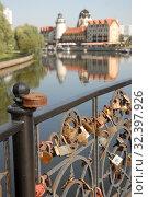 Купить «Красивый городской пейзаж. Калининград», эксклюзивное фото № 32397926, снято 25 августа 2019 г. (c) Svet / Фотобанк Лори