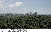 Купить «Sihanoukville city in Cambodia drone shot 4K», видеоролик № 32399606, снято 26 октября 2019 г. (c) Aleksejs Bergmanis / Фотобанк Лори