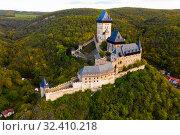 Купить «Panoramic view of castle Karlstejn. Czech Republic», фото № 32410218, снято 10 октября 2019 г. (c) Яков Филимонов / Фотобанк Лори