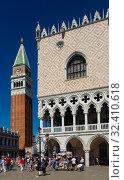 Palazzo Ducal, Venice (2019 год). Редакционное фото, фотограф Яков Филимонов / Фотобанк Лори