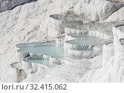 Thermal springs of Pamukkale, Turkey (2017 год). Стоковое фото, фотограф Юлия Белоусова / Фотобанк Лори